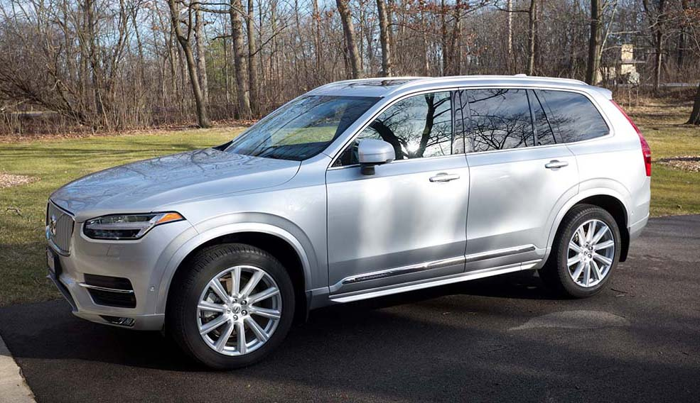 2016 XC90 Inscription: Bright Silver Metallic, charcoal ...